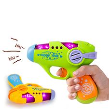 pistola con ruido